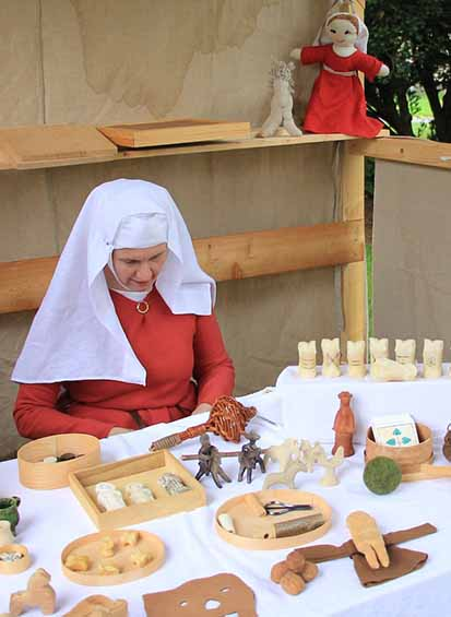 Spielzeug im Hochmittelalter